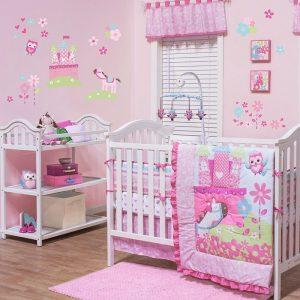 Belle Ever After 10 Piece Baby Bedding Set