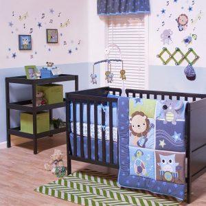 Belle Jungle jamboree 11 piece baby bedding sets