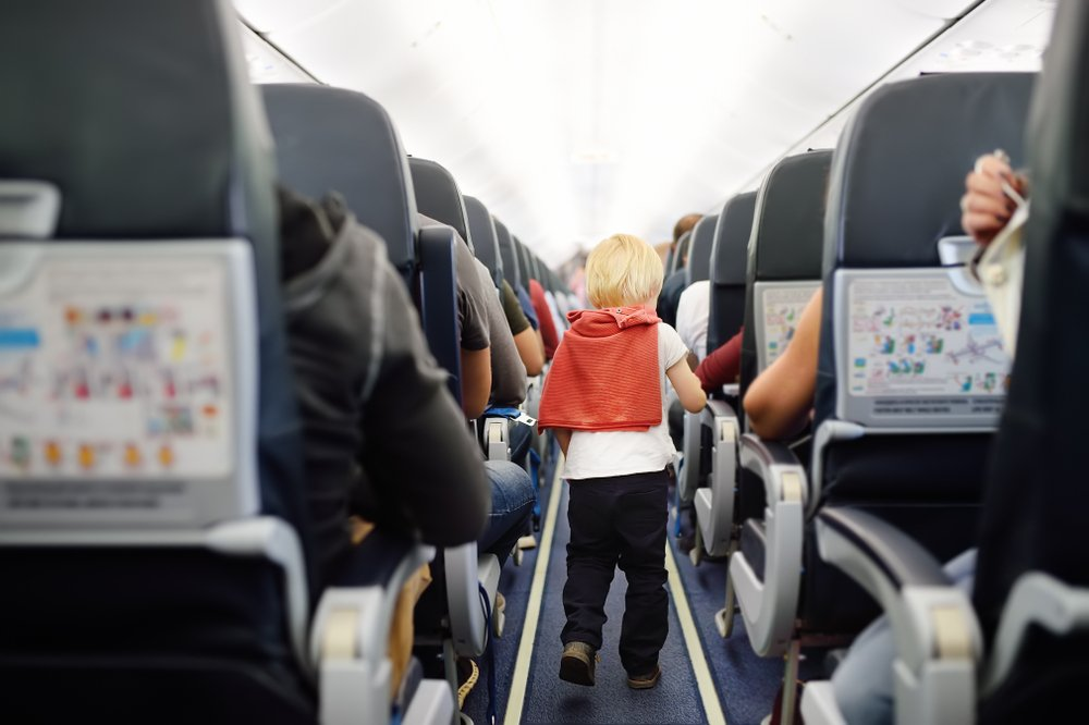 How To Plan For A Long Flight With A Toddler Pack Double