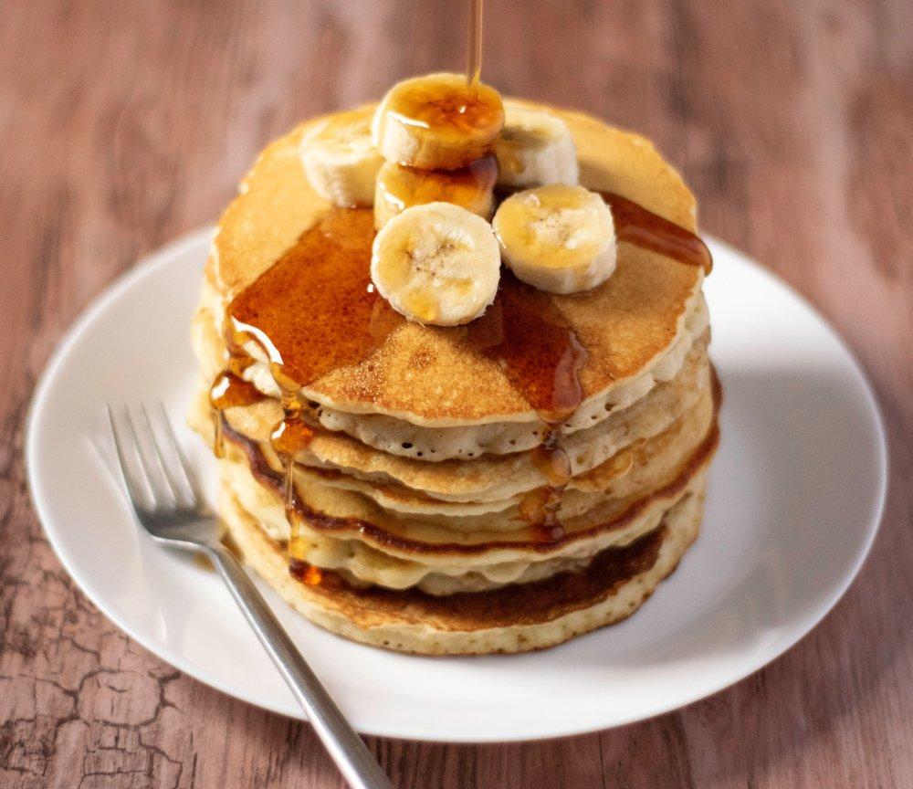 Fun Cooking Ideas With Kids - Banana Pancakes