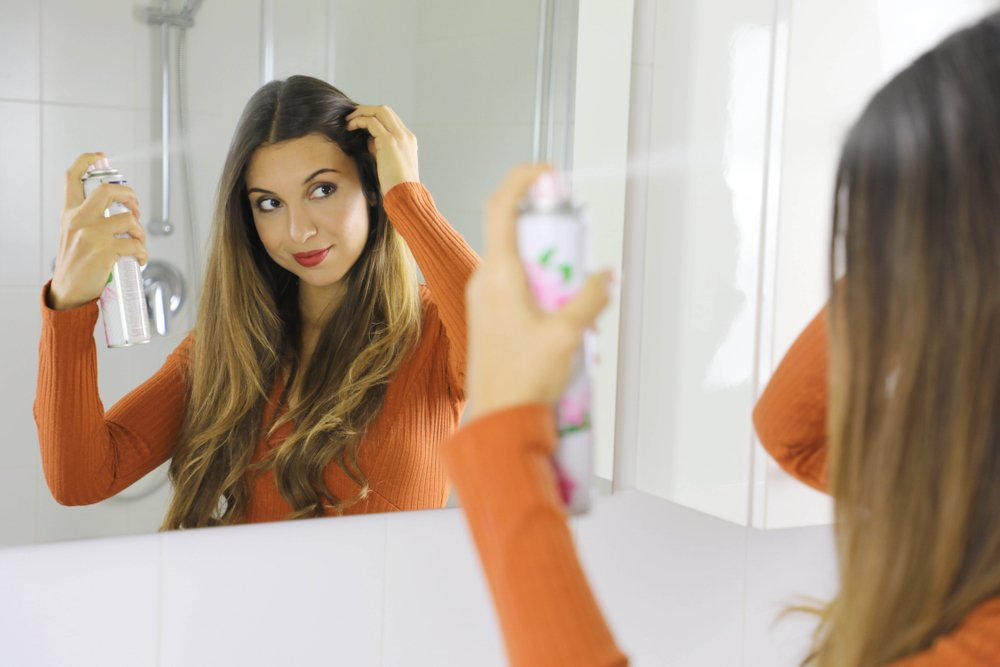 Quick Beauty Hacks For The Busy Mum - Dry Shampoo