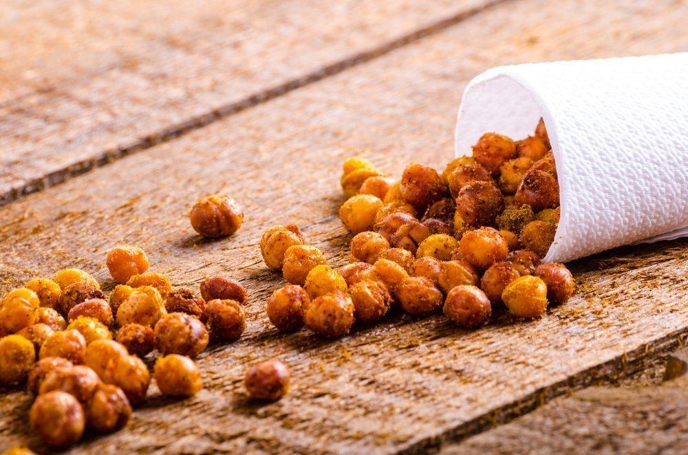 Easy Snacks for Kids - Roasted Peas