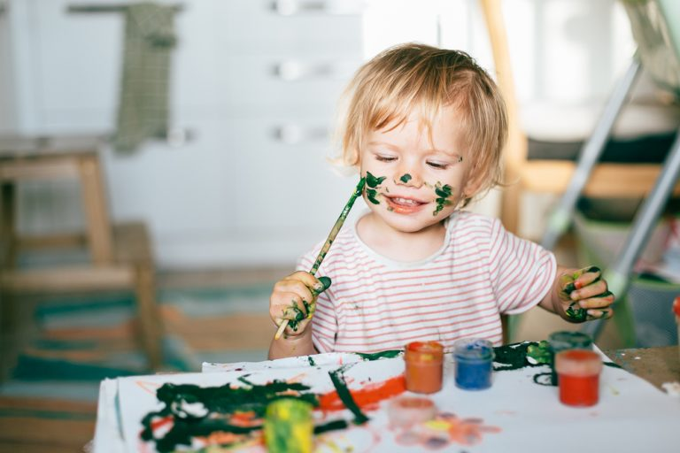 Messy Play – Why It Is So Important