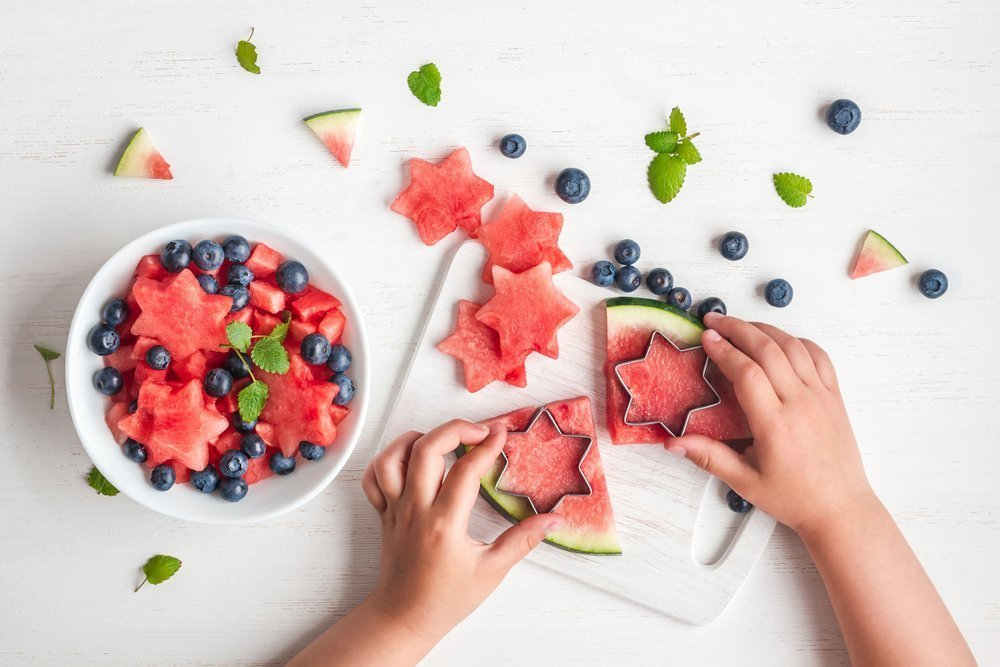 Watermelon and Berry Salad