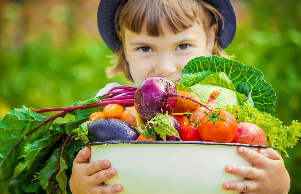 Why You Should Start A Veggie Garden With Your Kids Healthy Eating