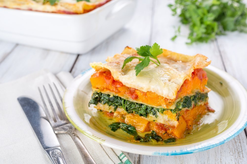 Meat-Free Monday Ideas The Whole Family Will Love Butternut And Spinach Lasagne