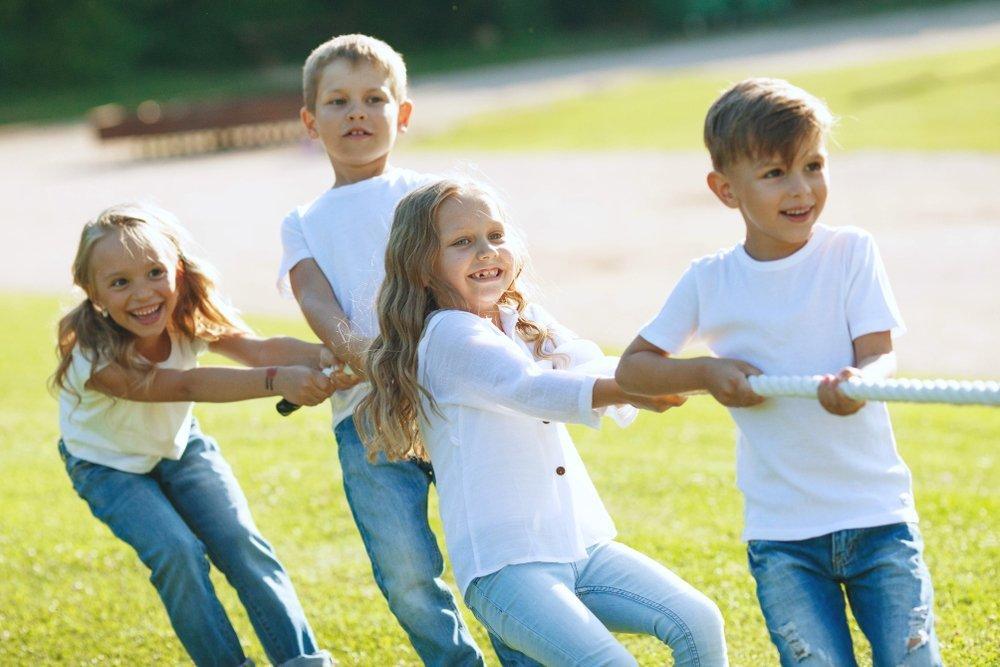 Heavy Work Activities For Kids Tug Of War