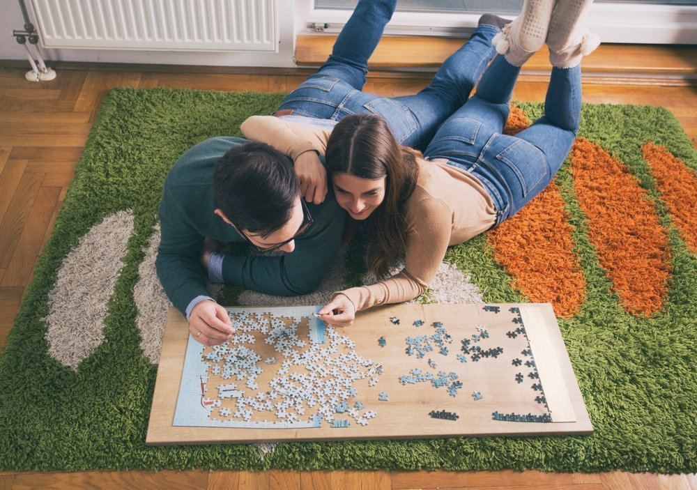 Budget Date Night Ideas Do A Puzzle Together