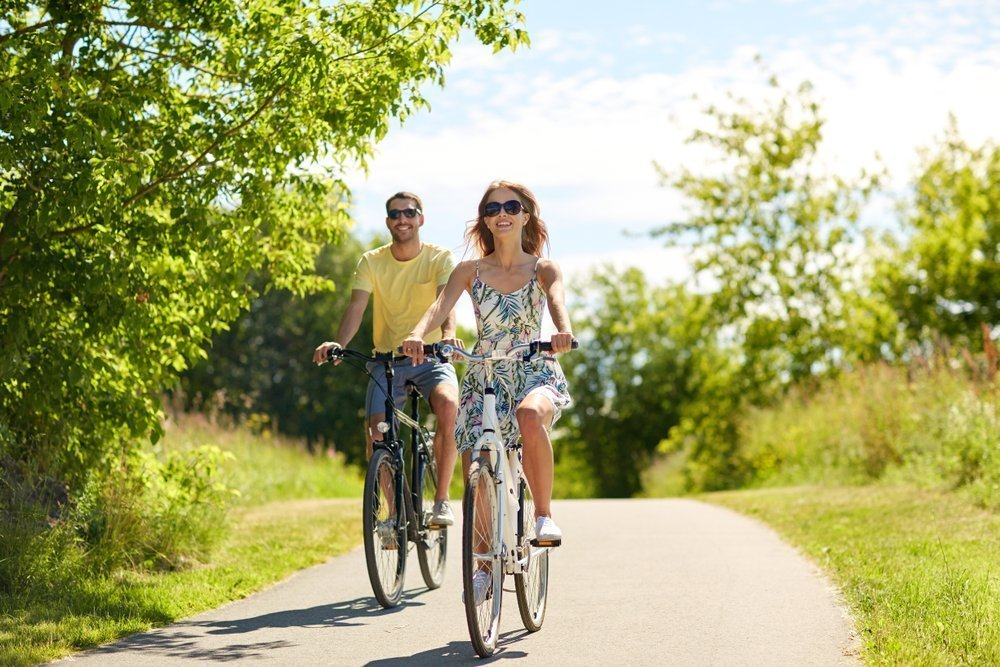 Budget Date Night Ideas Ride Bikes Together