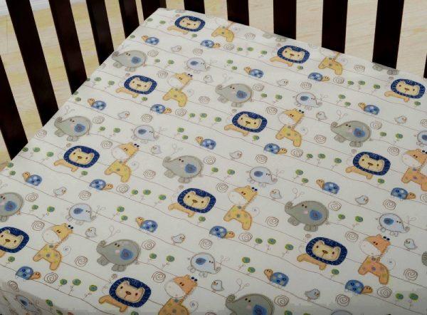 Kidsline Baby Sketches Bedding Set Cot Sheet