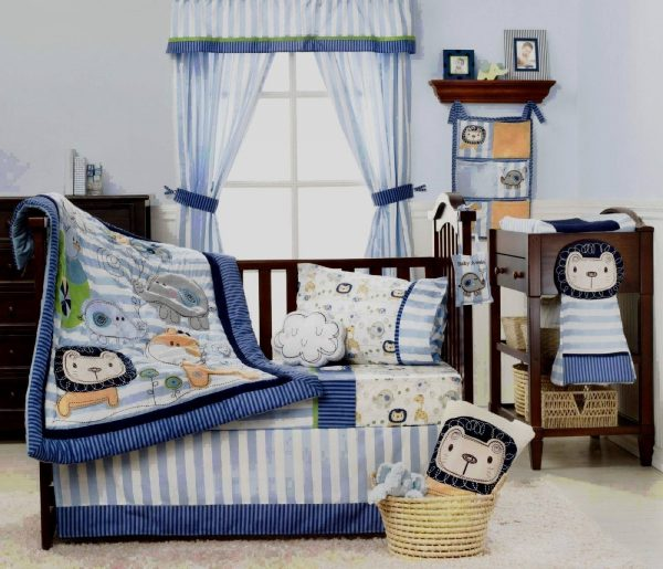 Kidsline Baby Sketches Bedding Set