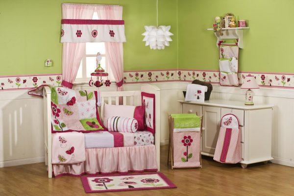 Kidsline Berry Garden Baby Bedding Set