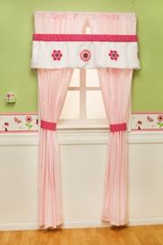 Berry Garden Baby Bedding Set Curtains