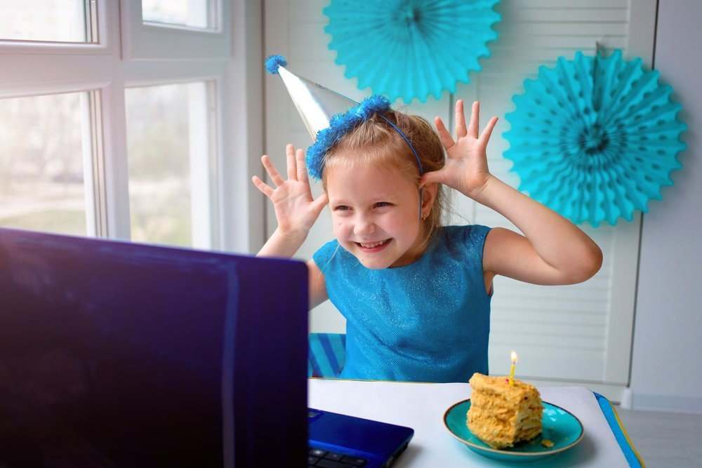 How You Can Help Make Your Child's Birthday Special During Lockdown Host A Virtual Party
