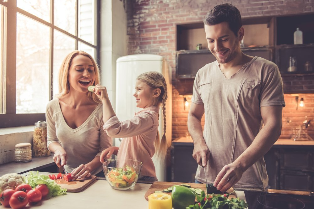 5 Ways To Boost Your Family's Immune System Eat A Healthy Diet