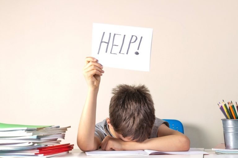 Helping Your Child Deal With School Stress