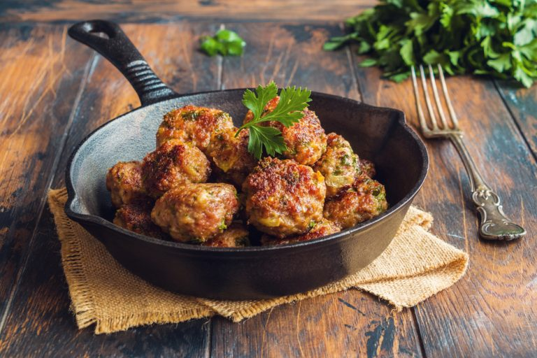 Toddler-Friendly Mediterranean Meatballs