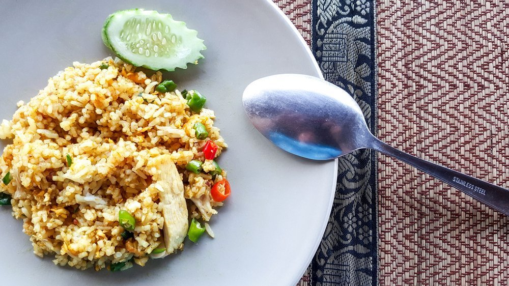 Kid-Friendly Chicken And Egg Fried Rice