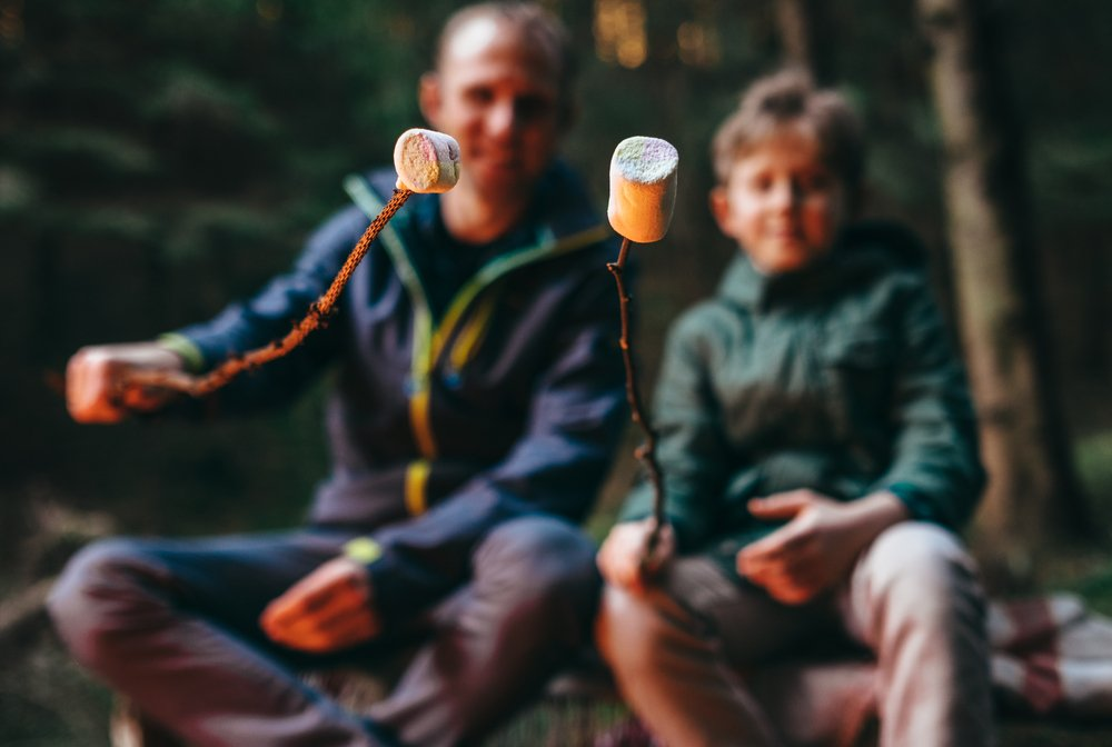 A Beginner's Guide To Camping With Kids Pack The Food They Love