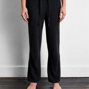100% Cashmere Pants in Charcoal - Bed Threads