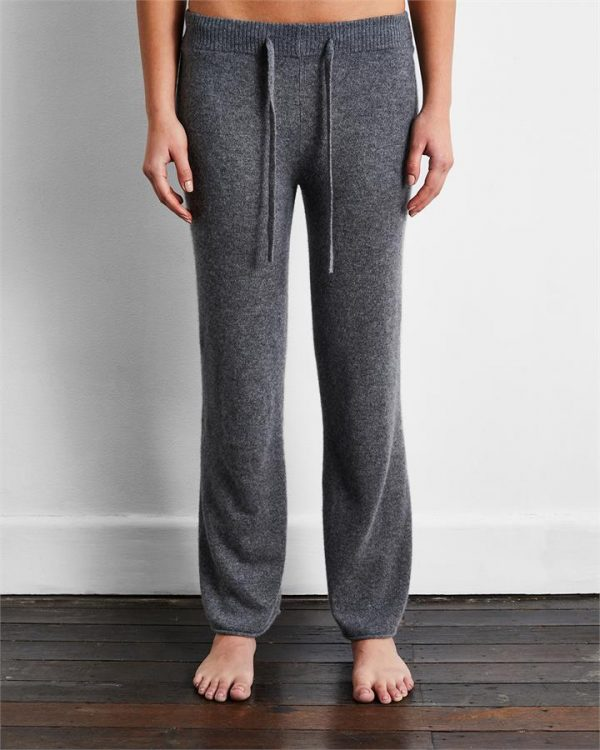 100% Cashmere Pants in Fog - Bed Threads