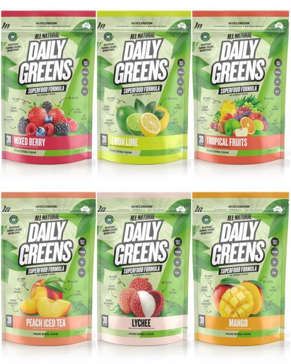 100% Natural Daily Greens - Select Flavour