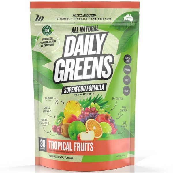 100% Natural Daily Greens - TROPICAL FRUITS