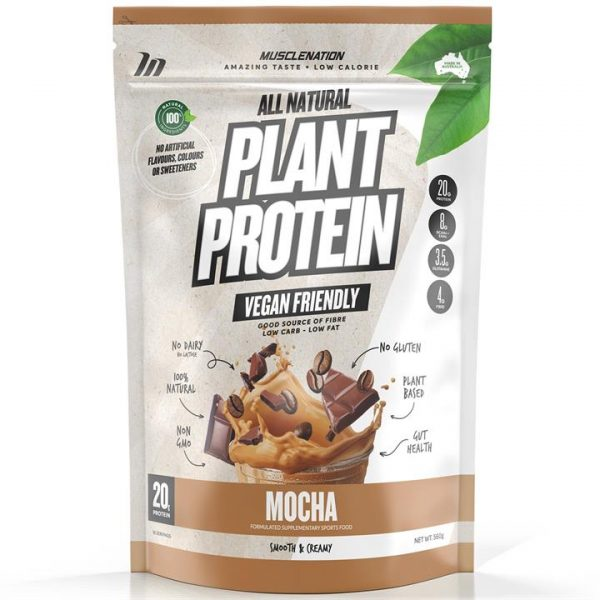 100% Natural Plant Based Protein - MOCHA