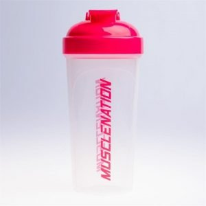 750mL Shaker - Clear / Fuchsia - Clear / Fuchsia