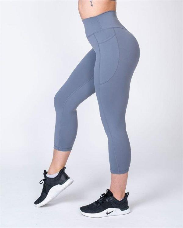 7/8 Pocket Leggings - Stone - XS