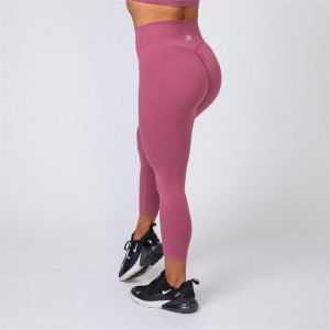 7/8 Scrunch Leggings - Sangria - M