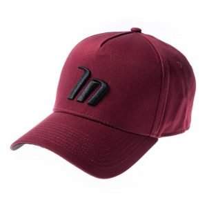 A-Frame Hat - Burgundy - One Size