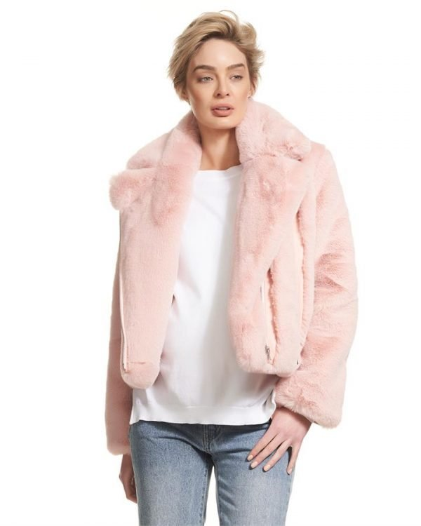 Agi Faux Fur Jacket