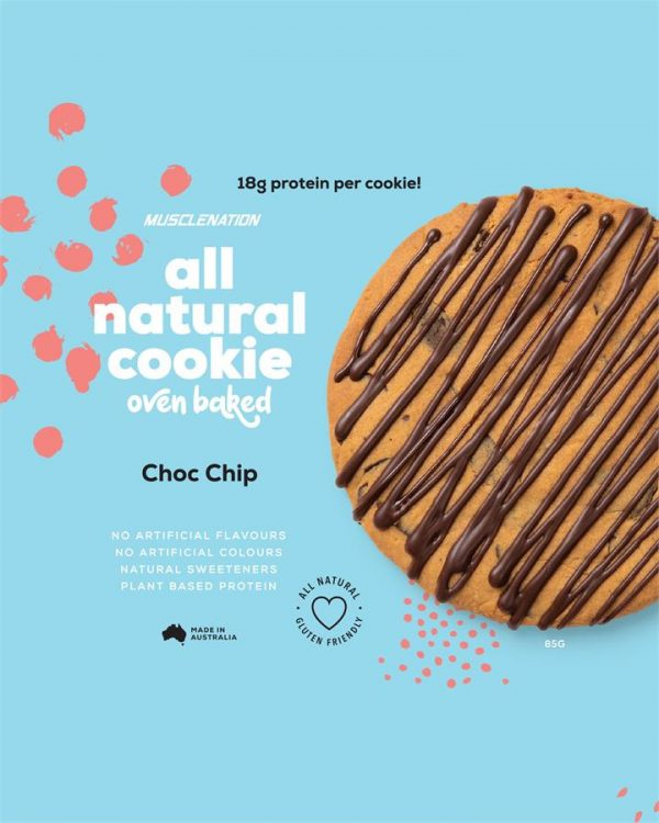 All Natural Protein Cookie CHOC CHIP - BOX OF 10