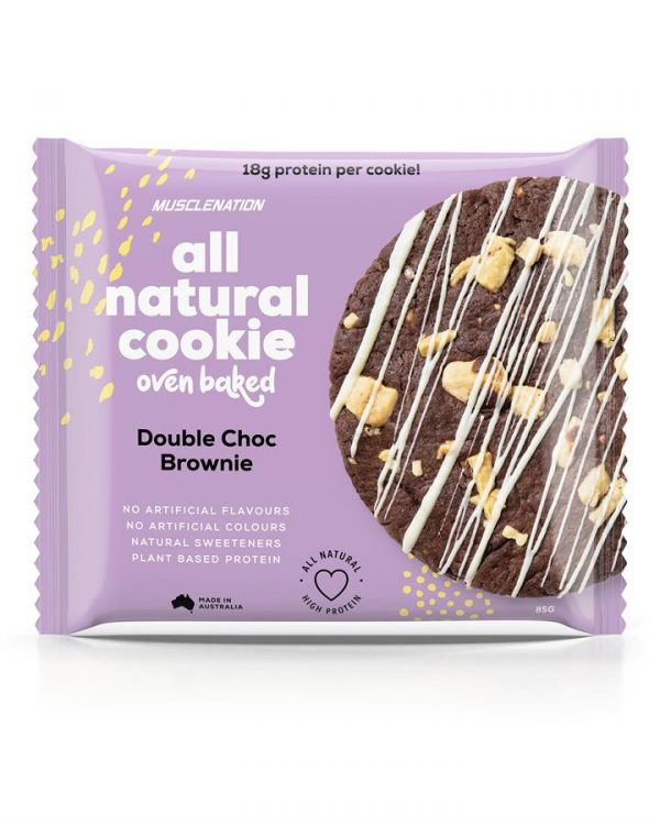 All Natural Protein Cookie DOUBLE CHOC BROWNIE - BOX OF 10