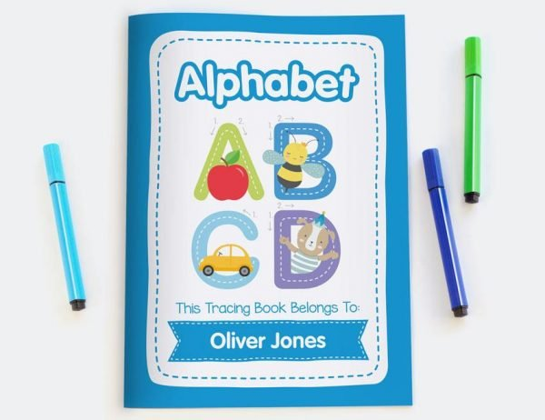 Alphabet Personalised Tracing Book