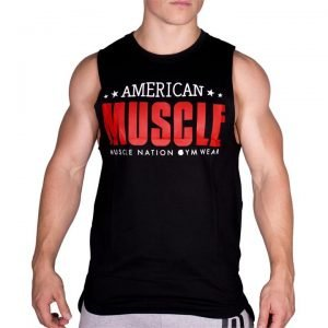 American Muscle Tank - Black - XL