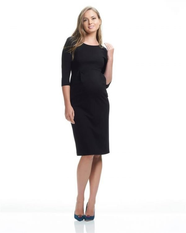 Annie 3/4 Sleeve Maternity Dress