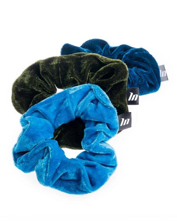 Aqua Marine Scrunchie Pack - 3 Scrunchies