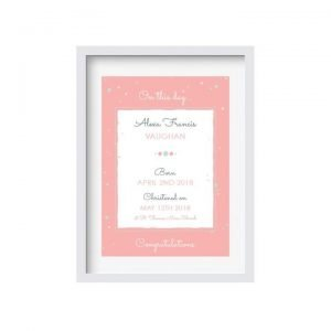Baby Birth Keepsake