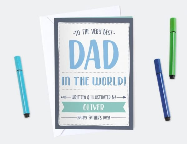 Best Dad Activity Card