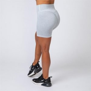 Bike Shorts - Ash Grey - S