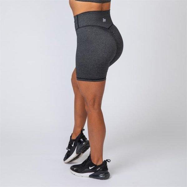 Bike Shorts - Heather Black - S