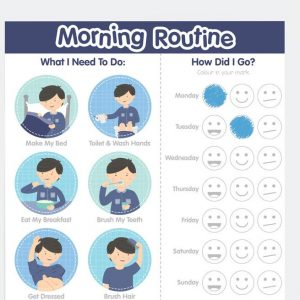 Boy Morning Routine Chart