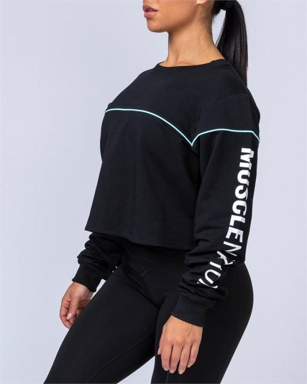Brawler Long Sleeve - Black - XS