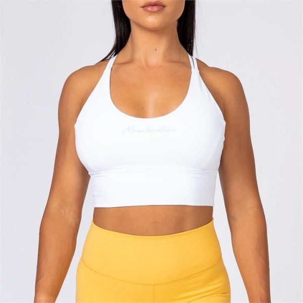 Butter Motion Bra - White - XL