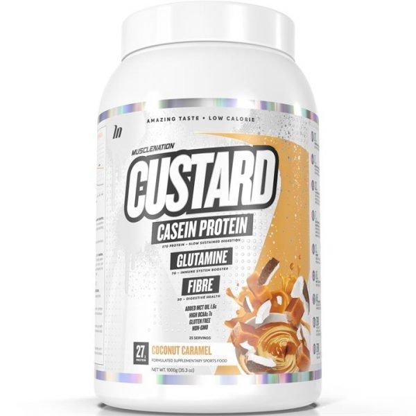 CUSTARD Casein Protein COCONUT CARAMEL