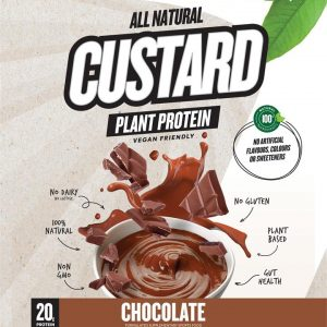 CUSTARD Plant Based Protein CHOCOLATE