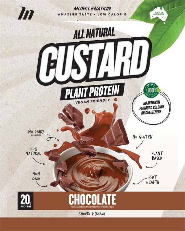 CUSTARD Plant Based Protein CHOCOLATE