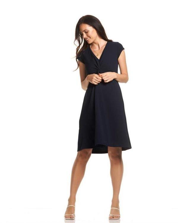 Charlotte Twist Flare Dress